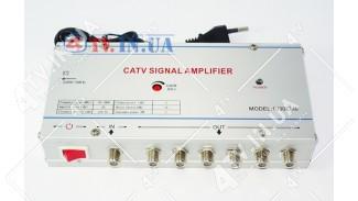 Усилитель домовой 1030EM6 со встроенным сплиттером на 6 каналов