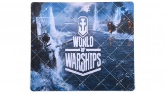 Коврик World of Ships 290*250 серый