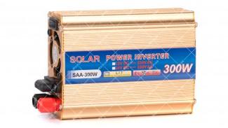 Инвертор c 12V в 220V Solar SAA-300W + USB