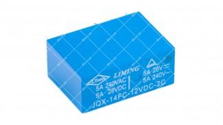 Реле электромагнитное JQX-14FC-12VDC-2C
