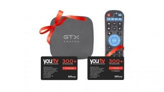 GEOTEX GTX-R1i S905W 2GB/16GB + подписка YouTV 12+1 месяцев