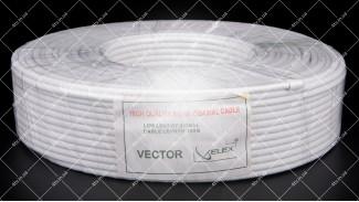 Кабель коаксиальный Vector RG-58 100 метров 50 Ом