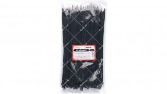 Стяжки нейлоновые (хомуты) 3.6x200 B черные 100 шт