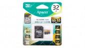 Карта памяти 32GB microSDHC Apacer UHS-I (95/85) U3 (AP32GMCSH10U4-R)