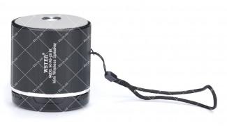 Колонка портативная WSTER WS-231BT Bluetooth черная