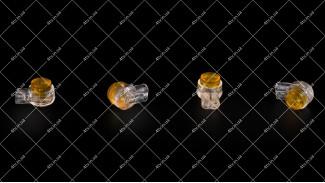 Скотч-лок (Scotchlok) ARRIS желтый, 100шт, с гелем