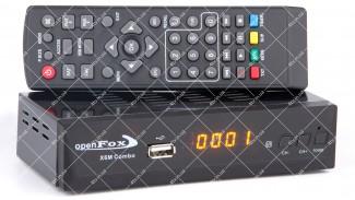 OpenFox x-6m COMBO (X6M Combo) HD DVB-S2/T2