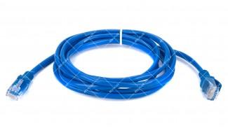 Патч-корд UTP Cat5 8Р8С- 8Р8С синий 2 метра