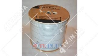 Коаксиальный кабель TESLA 660 75 Ом белый, ПО МЕТРАМ