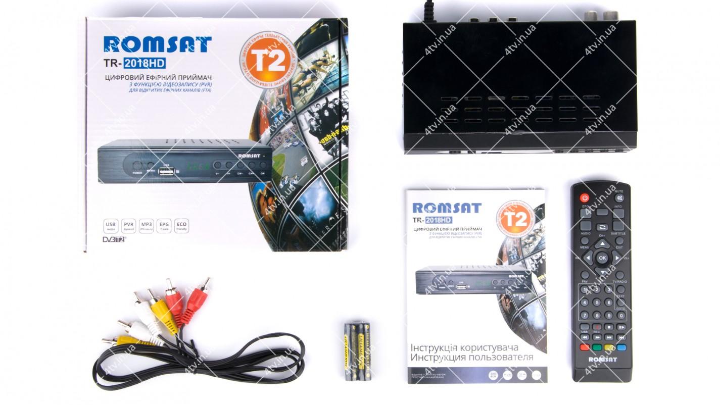 Romsat TR-2018HD DVB-T2