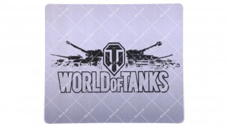 Коврик World of Tanks 290*250 серый