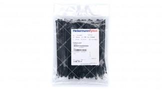 Стяжки нейлоновые (хомуты) Hellermann Tyton 3.4x148 черные 100 шт (118-04800)