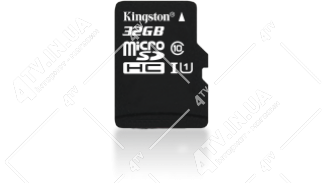 Карта памяти 32GB microSDHC UHS-I Kingston class 10 adapter SD (SDC10/32GB)