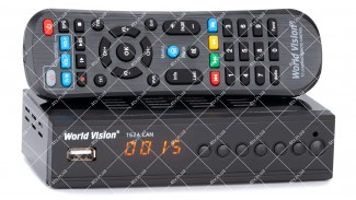 World Vision T62A LAN DVB-T2 + обучаемый пульт