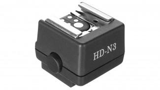 Адаптер горячего башмака вспышек HD-N3 для камер Sony УЦЕНКА
