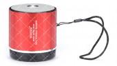 Колонка портативная WSTER WS-231BT Bluetooth красная