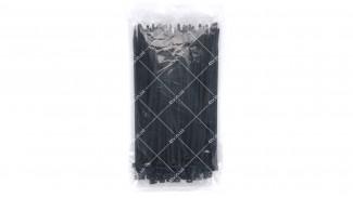 Стяжки нейлоновые (хомуты) 4x180 черные 100 шт