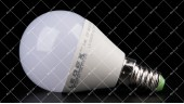 Светодиодная лампочка LEDEX 8W E14 4000K PREMIUM G45 (ШАРИК)