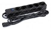 Фильтр сетевой Merlion UPS B530 для ИБП 5 розеток 3 метра черный