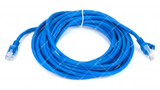 Патч-корд UTP Cat5 8Р8С- 8Р8С RITAR синий 5 метров