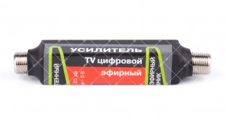 Антенный усилитель DVB-T2 ALN-1 5V Бочка под F