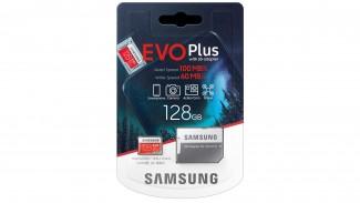 Карта памяти microSDXC Samsung EVO Plus 128GB Adapter (MB-MC128HA/RU)