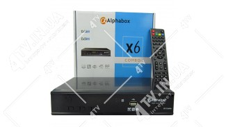 Alphabox X6 COMBO HD DVB-S2/T2/C