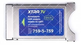 CAM-модуль XTRA TV  с операторским профайлом