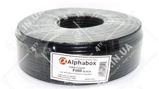 Коаксиальный кабель Alphabox F660 Black (100 м.) 75 Ом черный