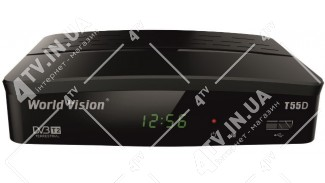 World Vision T55D Dolby Digital DVB-T2