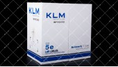 Витая пара UTP KLM 5E 0.50mm CCA внутр.