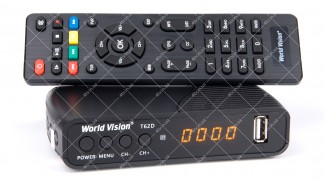 World Vision T62D Dolby Digital DVB-T2