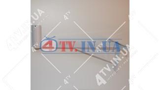 """Кронштейн """"Уголок"""" (вынос 44 см.) БЕЛЫЙ"""