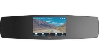Видеорегистратор зеркало YI Mirror Dash Camera International Edition (Black)