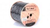 Коаксиальный кабель Finmark F660BVcu МЕДЬ (305 м.) 75 Ом черный