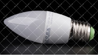 Лампочка cветодиодная LEDEX 6W E27 4000K PREMIUM C37 (СВЕЧКА)