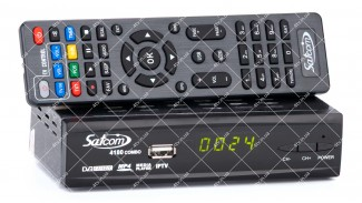 Satcom 4180 Combo HD DVB-S2/T2 + обучаемый пульт