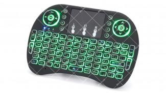 Беспроводная клавиатура i8 с подсветкой и АКБ