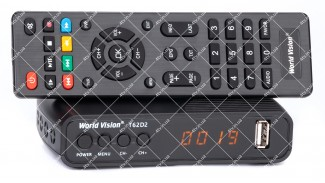 World Vision T62D2 Dolby Digital DVB-T2