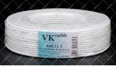Кабель сигнальный VKcable 4x0.22 CCA в экране 100 метров