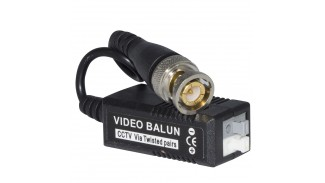 Передатчик видео балун по витой паре для CCTV камер VIDEO BALUN пара с кабелем под зажим