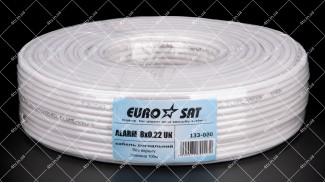 Кабель сигнальный EUROSAT 8x0.22 CCA 100 метров