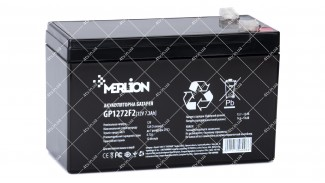 Батарея аккумуляторная Merlion AGM GP1272F2 12V 7.2 Ah