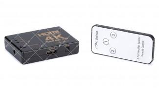 Переключатель SWITCH HDMI SY-301 3 port MINI с ИК-пультом