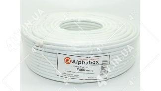 Кабель коаксиальный Alphabox F660 100 метров 75 Ом