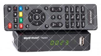 World Vision T62D3 Dolby Digital DVB-T2