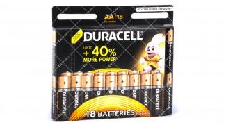 Батарейка DURACELL Basic AA MN1500 LR06, 18шт.