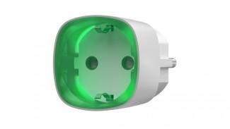Умная розетка Ajax Socket со счетчиком энергопотребления белая