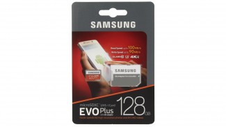Карта памяти microSDXC Samsung EVO Plus 128GB Adapter (MB-MC128GA/RU)