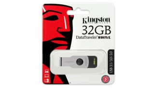 Накопитель Kingston 32GB DT SWIVL Metal USB 3.0 (DTSWIVL/32GB)